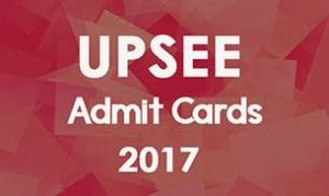 Uttar Pradesh Entrance Examination admit cards 2017
