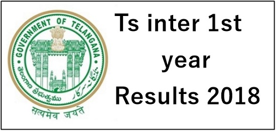 TS Intermediate 1st Year Results 2018