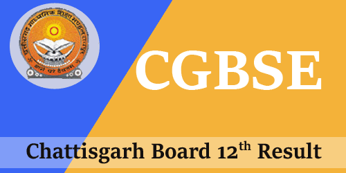 CGBSE-12th-Result-2018