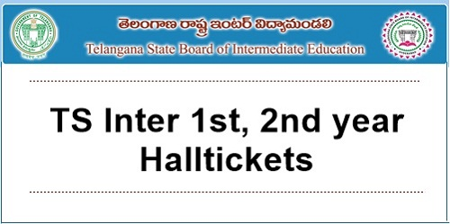 telangana 1st year hall ticket