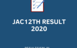 JAC 12TH RESULT 2020