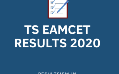 TS EAMCET RESULTS 2020