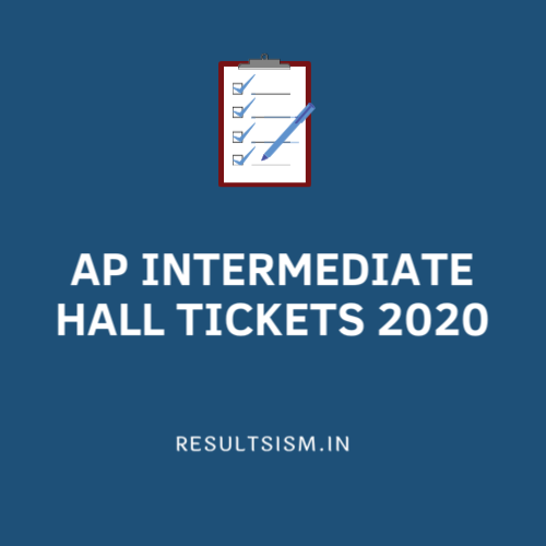 AP INTERMEDIATE HALL TICKETS 2020