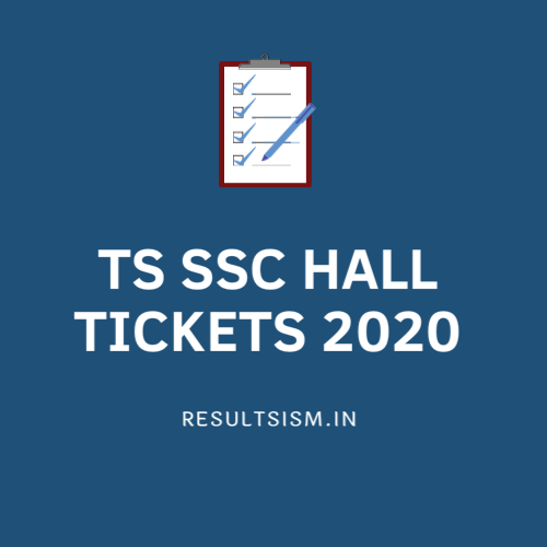 TS SSC HALL TICKETS 2020